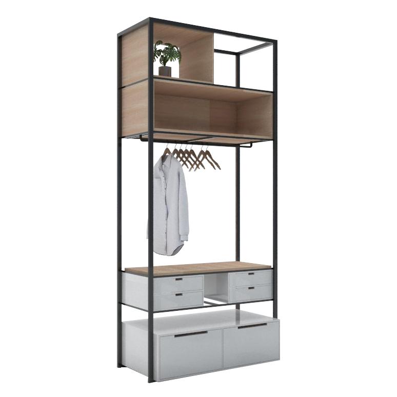 open wardrobe A2